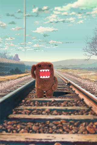 domo kun wallpaper. Domo Kun Railway