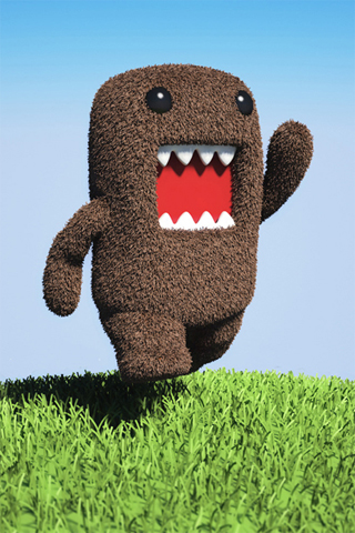 domo kun wallpaper. Happy Domo Kun